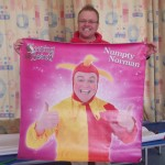 Numpty Norman visited Reception, Y1 and Year 2 Monday 17th June 2013