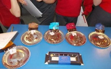 Year 4  – Chocolate Tasting