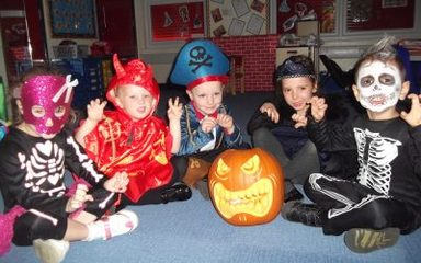 Halloween in Reception
