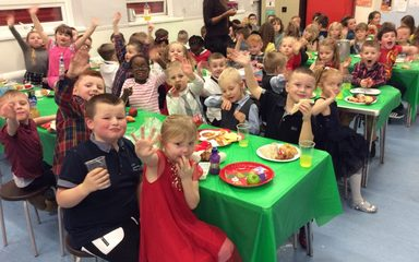Party time in Year 1 and 2