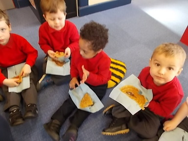 Pancake Day in Nursery