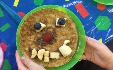 Shrove Tuesday in Reception Class