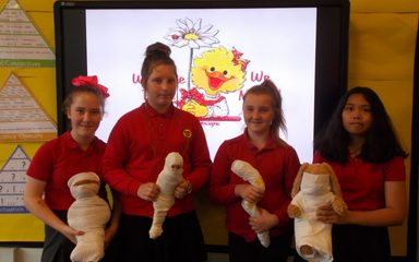 Y6 Homework – Mummification