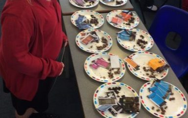 Chocolate Tasting in Year 4