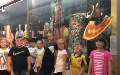 Year 3's visit to the Great North Museum