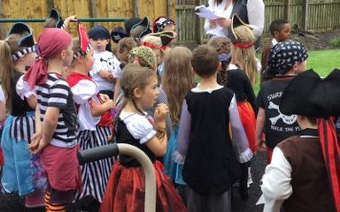 Pirate Day in Reception