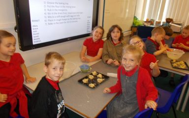 Making cakes in Year 3