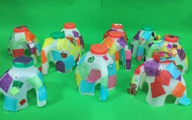 Elephants on parade!