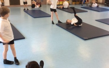 Gymnastics in Year 2