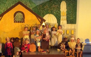 Nursery and Reception Nativity
