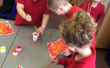 Year 2 Art – The Great Fire Of London