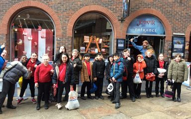 Year 5 visit to the Jorvik Museum