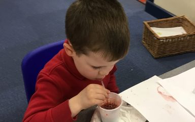 Science week – Reception