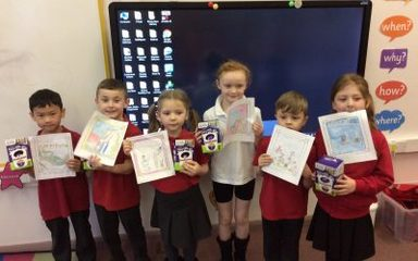 Year 2 competition winners