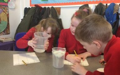 Year 3 Science Experiment