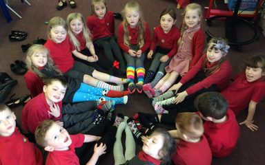 Year 1 Lots of Socks – World Down Syndrome Awareness