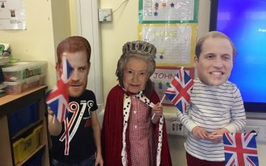 Royal Wedding in Reception