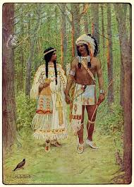 Hiawatha's Childhood