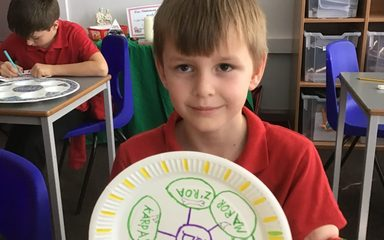 Seder Plates in Year 5