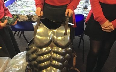Greek visitor in Year 5
