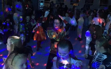 Spooks and Sparkles Halloween Disco