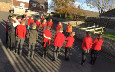 Outdoor Learning in Year 5