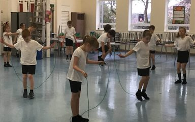Skipping in Year 4