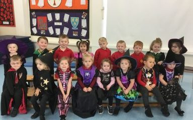 Witches and Wizards Day in Nursery