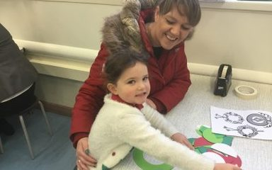 Reception Christmas Crafts