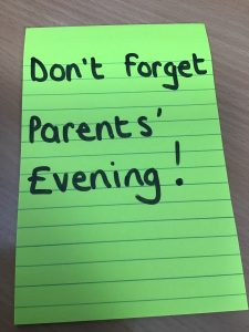Parents' Evening (Year 1 - Year 6)
