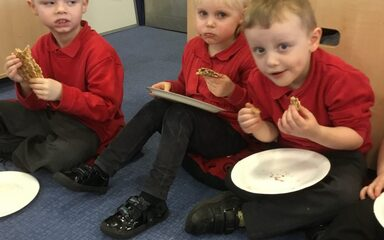 Shrove Tuesday in Nursery