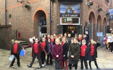 Year 4 and Year 5 visit to Jorvik Museum