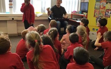 Adam Bushnell visits Year 2